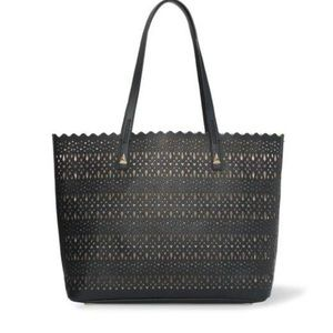 stella and dot avalon tote black